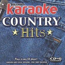 Various Artists : DJs Choice Karaoke Country Hits CD