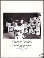 GRAHAM CANTIENI: PEINTURES, DESSINS, COLLAGES 1978-1981