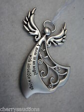 M A mom is an angel with invisible wings ANGELS BY YOUR SIDE Angel Ornament ga