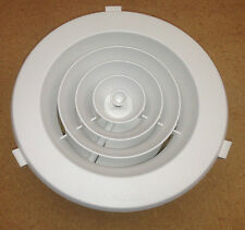 "8"" Ducted Heater Ceiling Outlet Vent Round DOWNJET 200mm"