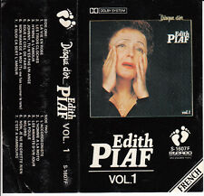"""K7 AUDIO EDITH PIAF """"DISQUE D'OR"""" VOLUME 1 (MADE IN JAPAN)"""