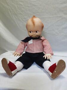 Vintage large Kewpie Boy Doll - Jesco Cameo Rare & Collectible 58cm