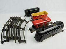 Marx & Co. Tin Litho Wind-Up Train set Northern Pacific New York Central VG cond