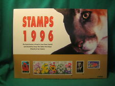 """Usps """"Stamps 1996"""" Large Expandable Poster"""