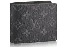 Louis Vuitton Men's Wallet Black Monogram Canvas *Looks Amazing* 100% Authentic