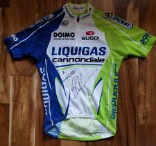 Team Liquigas Cycling Jersey Worn Viviani Tour de France Peter Sagan