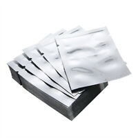 100x Silver Aluminum Foil Mylar Bag Vacuum Bags Sealer Food Storage Package bag