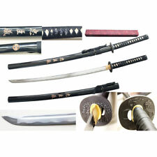 Chushingura Full Tang Carbon Steel Handmade Katana Sword with Razor Sharp Blade