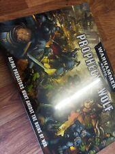 Warhammer 40000 profecía de El Lobo Box Set Nuevo Y En Caja Sellada spacewolves vs Orks Nuevo