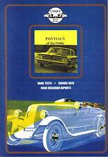 Pontiacs of 1960s Tempest GTO Firebird Grand Prix Le Mans Sprint Road Test Book