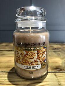 Yankee Candle Returning Favourite Large Jar Almond Cookie
