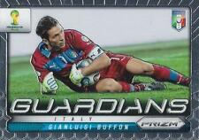 2014 Panini Prizm World Cup Brasil - Brazil '14 'Guardians' Insert Chase Card