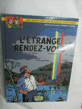 """Blake et Mortimer T 15 en EO """"L'étrange Rendez-vous"""" + Ex-libris (Van Hamme,"""