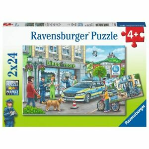 Ravensburger Puzzle 2x24 Piece Police At Work