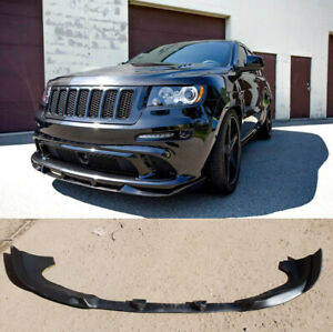 For Jeep Grand Cherokee 2011-2015 2016 SRT Front Bumper Lip Splitter FRP spoiler