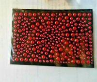 CraftbuddyUS 325 Red Self Adhesive Diamante Stick on Rhinestone Gems