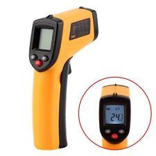La pistola laser de temperatura sin contacto Termometro digital infrarrojo de la
