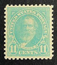 US Stamps, Scott #563 11c 1922 Hayes XF M/NH. Nice specimen.