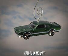 Custom '71 Ford Maverick Grabber 1/64 Christmas Ornament Adorno Classic Muscle