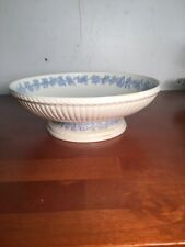 Wedgwood Queensware Footed Low Serving Bowl 9� Salad Etruria England
