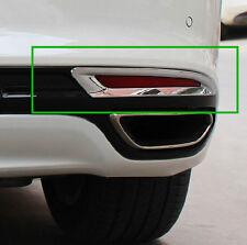 New Chrome Trim Rear Fog Light Cover For Ford Fusion Mondeo 2013 - 2017
