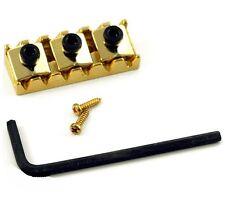 Quality Locking Nut 43mm GOLD for Floyd Rose Schaller Tremolo Guitar Bridge