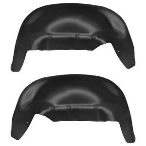 Husky Liners 79061 Rear Wheel Well Guards Cover for 19-21 Chevy Silverado 1500