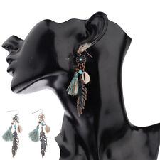 Fashion Vintage Bohemian Boho Hollow Flower Tassels Women's Charm Earring 2017