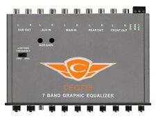 Cadence CEQ735 7 Band Graphic EQ 9V Line Driver, Aux In.