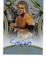 Sid Vicious 2018 Topps Legends of WWE Silver Autograph /50 Auto #ASV