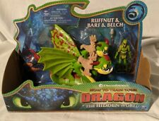 How To Train Your Dragon Hidden World RUFFNUT & BARF And BELCH Figure