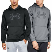 Under Armour Mens Performance Fleece Graphic Hoodie Hoody 45% OFF RRP