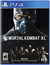 Mortal Kombat XL - PlayStation 4 Standard Edition Ps4 Games Sony Factory Sealed