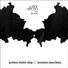 Jasmina GOLDEN discoteca Ship/maschina-City splits 1 Berlino VINILE LP NUOVO