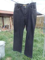 MAC schwarze Jeans Melanie W42 L32, BW 84 cm, SL 78 cm 98% Baumwolle 2% Elasthan
