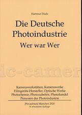 Hartmut Thiele: Die Deutsche Photoindustrie  Wer war Wer, 2020 #TH