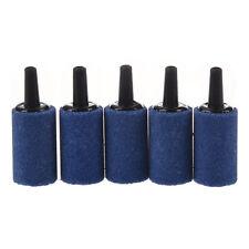 5 Pcs Cylinder Bubble Air Stones Blue For Aquarium Fish Tank CT O4X2 O4X2 Q7H6