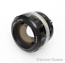 Nikon Nikkor-S 55mm F1.2 FAST AI'd Manual Focus Lens (613-7)