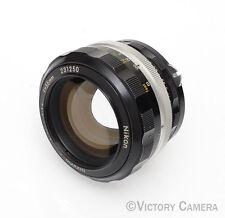 Nikon Nikkor-S 55mm F1.2 FAST AI'd Manual Focus Lens (613-7)