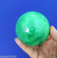 60MM +Stand Glow In The Dark Natural Fluorite Magic Crystal Healing Ball
