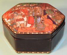 "Heinrich Villeroy & Boch Russian Fairy Tales Trinket Box ""The Snow Maiden"""