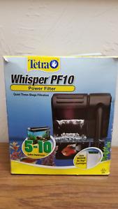 Tetra 26316 Whisper Filter PF10 5-10-Gallon New Free Ship