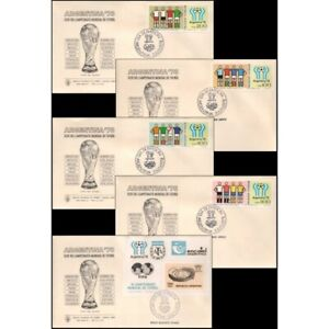 SOCCER-ARGENTINA/COVERS, 1978 - WORLD CUP SOCCER CHAMPIONSHIP ARGENTINA