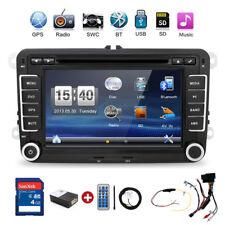 """7"""" AUTORADIO Mit GPS NAVI CD DVD BLUETOOTH USB SD Für VW GOLF 5 PASSAT TOURAN"""