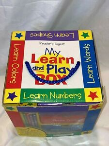 My Learn & Play Box - Numbers Colors Words Shapes Learning Activity