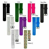 Für Pebble Time/Time Steel Smart Watch Silikon Armband Uhrenarmband Strap BM