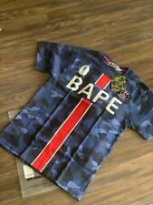 Bape x PSG Tee Navy Tshirt Jersey Brand New 100% Authentic SMALL