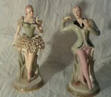 "Vintage 15""  Figurines Ballerina Dancers Chantilly China"