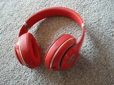 LikeNew Beats by Dr. Dre Studio 2.0 Wired Handband Headphones - Red