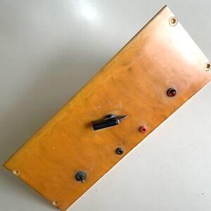 Antique 6.2mm Thick Sheet Bakelite Catalin Butterscotch Steampunk Control Panel